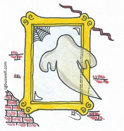 Do ghosts know they are dead ghost looking mirror
